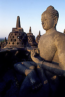 Images from the Book Journey Through Colour and Time,the famous temples at Borubadur near Jogjakarta Indonesia
