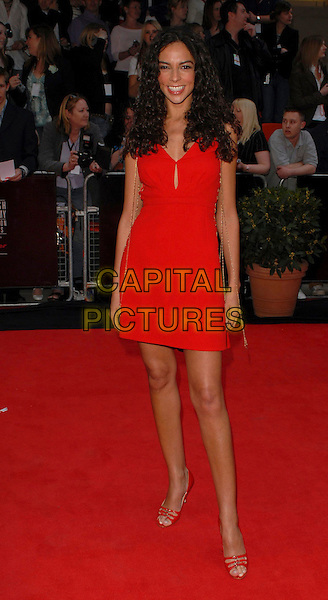 TERI SEYMOUR.Arrivals at the British Academy Television Awards, (BAFTA's) held at Grosvenor House Hotel, London, UK..May 7th 2006.Ref: CAN.bafta baftas full length Terri Terry red dress.www.capitalpictures.com.sales@capitalpictures.com.©Capital Pictures