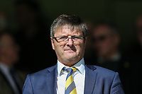 Oxford United Chairman Darryl Eales ahead of the Sky Bet League 1 match between Peterborough and Oxford United at the ABAX Stadium, London Road, Peterborough, England on 30 September 2017. Photo by David Horn.