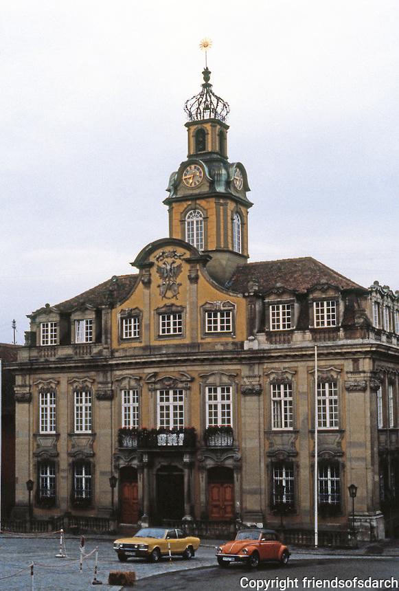 Schwabisch Hall: Rathaus, 1730-35.
