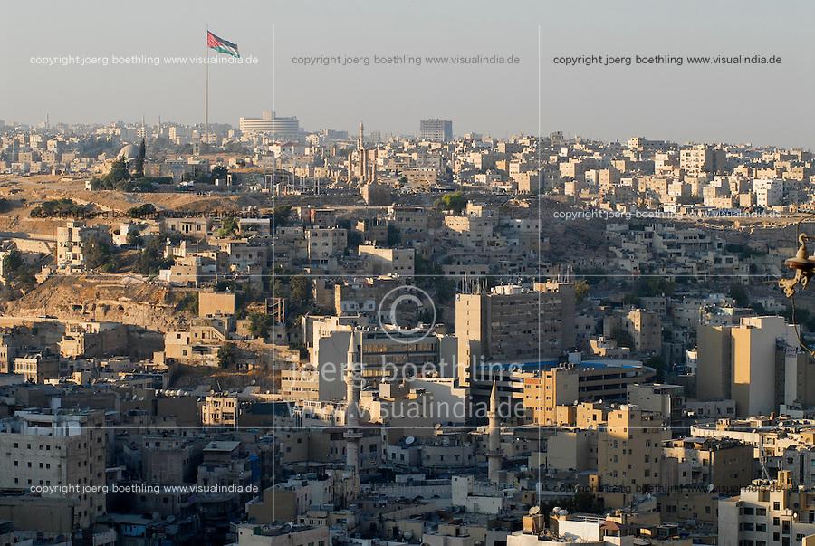JORDAN, Amman, skyline / JORDANIEN, Amman, skyline