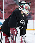 Beth Larcom (Harvard - 31) - The Harvard University Crimson practiced at Fenway on Monday, January 9, 2017, in Boston, Massachusetts.