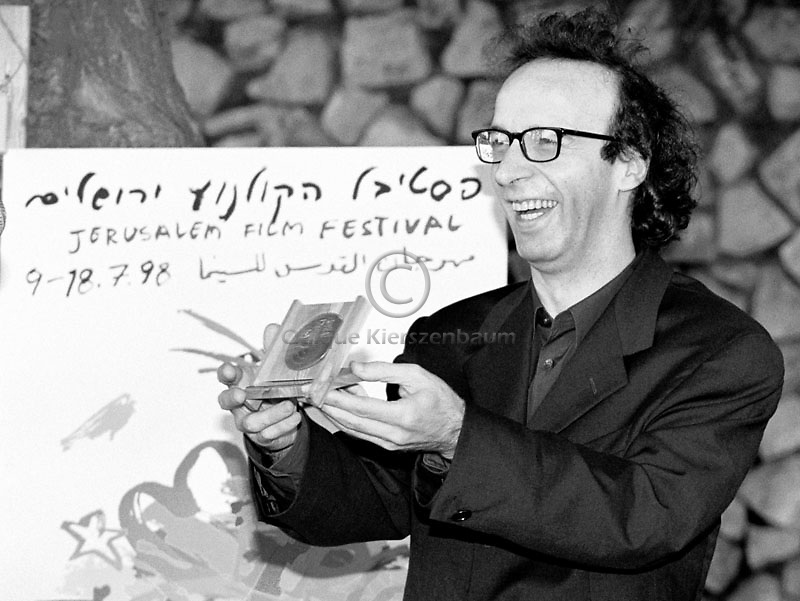 Italian actor, comedian, screenwriter and director Roberto Benigni,  (born 27 October 1952). Photo by Quique Kierszenbaum