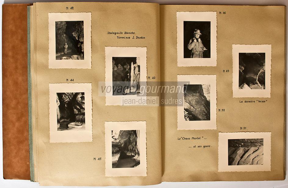 Europe/Europe/France/Midi-Pyrénées/46/Lot/Padirac: Gouffre de Padirac - Album de photographies du Gouffre de Padirac - Collection Société du Gouffre de Padirac -Reproduction - Autorisation nécessaire