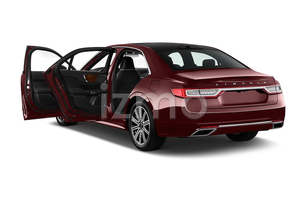 Car images of 2017 Lincoln Continental Reserve 4 Door Sedan Doors