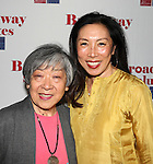 Jodi K. Long & Mom attending the 'Broadway Salutes' honoring those who make Broadway Great at the Timers Square Visitors Center in Times Square,  New York City on 9/20/2012.
