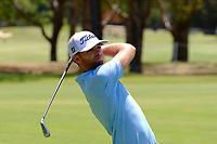 Blake Windred (AUS) on the 3rd fairway during round 1 of the Australian PGA Championship at  RACV Royal Pines Resort, Gold Coast, Queensland, Australia. 19/12/2019.<br /> Picture TJ Caffrey / Golffile.ie<br /> <br /> All photo usage must carry mandatory copyright credit (© Golffile | TJ Caffrey)