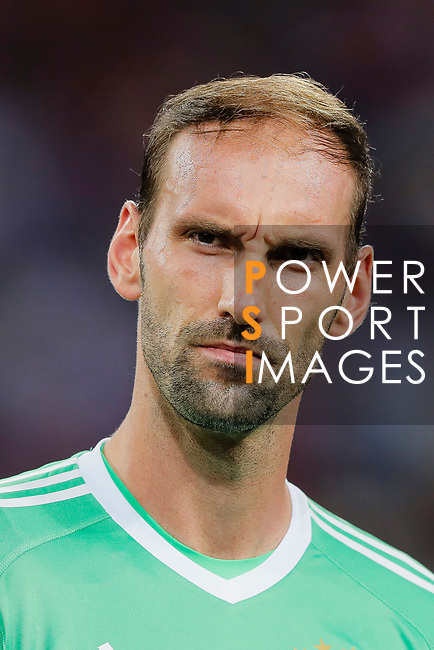 Bayern Munich Goalkeeper Tom Starke during the International Champions Cup match between Chelsea FC and FC Bayern Munich at National Stadium on July 25, 2017 in Singapore. Photo by Marcio Rodrigo Machado / Power Sport Images