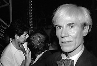Andy Warhol 1981<br /> Photo By Adam Scull/PHOTOlink.net