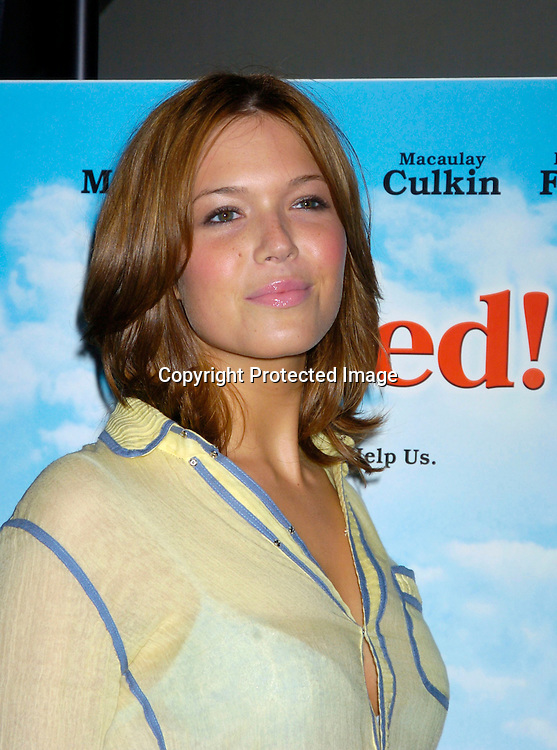 "Mandy Moore ..at the Opening of the Gen Art Film Festival screening of ..""Saved"" on April 14, 2004 at the Loews LIncoln Square ...Photo by Robin Platzer, Twin Images"