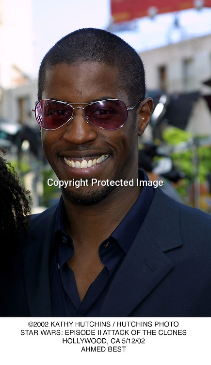 ©2002 KATHY HUTCHINS / HUTCHINS PHOTO.STAR WARS: EPISODE II ATTACK OF THE CLONES.HOLLYWOOD, CA 5/12/02.AHMED BEST