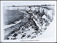 BNPS.co.uk (01202 558833)<br /> Pic: PhilYeomans/BNPS<br /> <br /> In the front line - Palm Bay Margate from before the war.<br /> <br /> Chilling - Hitlers 'How to' guide to the invasion of Britain.<br /> <br /> A remarkably detailed invasion plan pack of Britain has been unearthed to reveal how our genteel seaside resorts would have been in the front line had Hitler got his way in World War Two.<br /> <br /> The Operation Sea Lion documents, which were issued to German military headquarters' on August 1, 1940, contain numerous maps and photos of every town on the south coast.<br /> <br /> They provide a chilling reminder of how well prepared a German invading force would have been had the Luftwaffe not been rebuffed by The Few in the Battle of Britain.<br /> <br /> There is a large selection of black and white photos of seaside resorts and notable landmarks stretching all the way from Land's End in Cornwall to Broadstairs in Kent.<br /> <br /> The pack also features a map of Hastings, raising the possibility that a second battle could have been staged there, almost 900 years after the invading William The Conqueror triumphed in 1066.