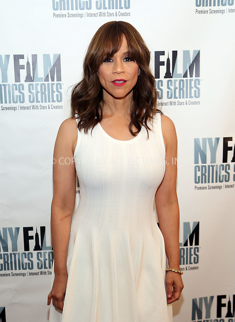 www.acepixs.com<br /> <br /> August 1 2016, New York City<br /> <br /> Actress Rosie Perez at the 'Five Nights In Maine' New York Film Critics Screening at the AMC Empire 25 theater on August 1, 2016 in New York City.<br /> <br /> By Line: Serena Xu/ACE Pictures<br /> <br /> <br /> ACE Pictures Inc<br /> Tel: 6467670430<br /> Email: info@acepixs.com<br /> www.acepixs.com