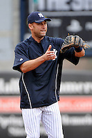 Feb 24, 2010; Tampa, FL, USA; New York Yankees  infielder Derek Jeter (2) during  team workout at George M. Steinbrenner Field. Mandatory Credit: Tomasso De Rosa/Four Seam Images