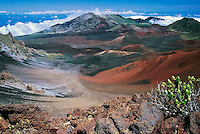 Iconic image representinmg the HALEAKALA NATIONAL PARK on Maui in Hawaii