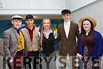 At the Mercy Mounthawk Secondary School annual musical Dress Rehearsal My Fair Lady, l-r, Darach Galliher, Aaron Malik, Dakota Carter, Louie Burne and Ciara Sugrue.