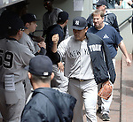 Masahiro Tanaka (Yankees), JUNE 3, 2015 - MLB : New York Yankees starting pitcher Masahiro Tanaka prepares to play before the game against the Seattle Mariners at Safeco Field in Seattle, United States. (Photo by AFLO)