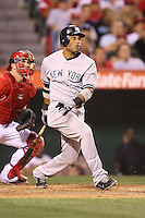 05/29/12 Anaheim, CA: New York Yankees second baseman Robinson Cano #24 during an MLB game played between the New York Yankees and the Los Angeles Angels at Angel Stadium. The Angels defeated the Yankees 5-1.