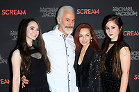 LOS ANGELES - OCT 24: Rick Baker, family at The Estate of Michael Jackson and Sony Music present Michael Jackson Scream Halloween Takeover at TCL Chinese Theatre IMAX on October 24, 2017 in Los Angeles, California