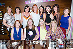 Annie O'Leary, Plunkett St, Killarney who celebrated her 40th birthday with her family and friends in the Scotts Hotel Killarney on Friday night front l-r@ Mary, Annie, Kay O'Leary and Eilish Coffey. back row: Helen Moynihan, eileen O'Leary, Eileen O'Leary, Lorraine Dower, Samantha O'Shea, Mary Foran, Mairead o'sullivan and Mary O'Sullivan
