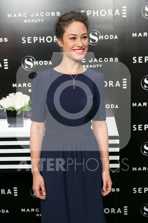 Aida Folch attends the SMODA Magazine and SEPHORA new Marc Jacobs Make up collection presentation at Sephora Shop in Madrid, Spain. October 6, 2014. (ALTERPHOTOS/Carlos Dafonte)