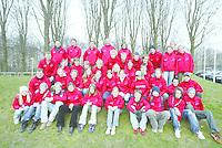 SCHAATSEN: HEERENVEEN: IJsstadion Thialf, 03-2004, VikingRace, Team Norge, Hege Bøkko, Håvard Bøkko, Ida Njåtun, ©foto Martin de Jong