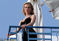 ../May 17,2012-Cannes (FR)-Model Eva Herzigova photoshoot in Martinez Hotel during the 65th Cannes Film Festival.  .. Credit: MediaPunch Inc.