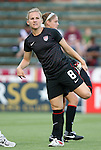 18 May 2011: Amy Rodriguez (USA). The United States Women's National Team defeated the Japan Women's National Team 2-0 at WakeMed Stadium in Cary, North Carolina as part of preparations for the 2011 Women's World Cup.