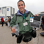 Brian Blanco wins the Think Tank Photo Credential Holder. The RSS Roll-Back of the Space Shuttle Atlantis STS-135 at the Kennedy Space Center in Cape Canaveral at July 7, 2011. <br />
