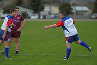 Action from the Horowhenua-Kapiti premier club rugby union match between Shannon and Toa at Shannon Domain in Shannon, New Zealand on Saturday, 18 July 2020. Photo: Dave Lintott / lintottphoto.co.nz