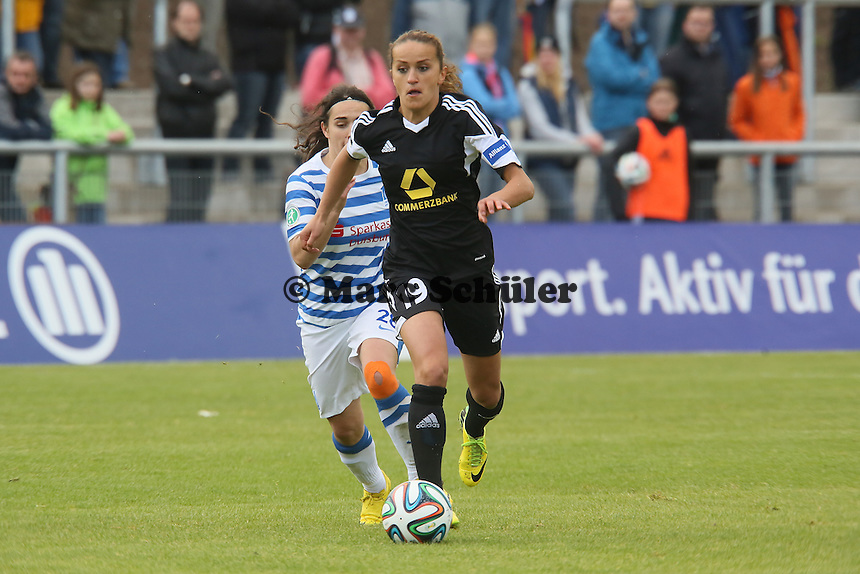 Fatmire Alushi (FFC) setzt sich durch - 1. FFC Frankfurt vs. MSV Duisburg