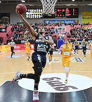 Basketball  1. Bundesliga  2016/2017  Hauptrunde  14. Spieltag  16.12.2016 Walter Tigers Tuebingen - Alba Berlin Peyton Siva (Alba)