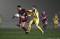 George Purcell of Hornchurch during Chelmsford City vs AFC Hornchurch, BBC Essex Senior Cup Football at Melbourne Park on 4th February 2019