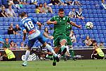 League Santander 2017-2018 - Game: 2<br /> RCD Espanyol vs CD Leganes: 0-1.<br /> Javi Fuego vs Gabriel Appelt.