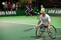 Februari 12, 2015, Netherlands, Rotterdam, Ahoy, ABN AMRO World Tennis Tournament, Frederic Cattaneo (FRA)<br /> Photo: Tennisimages/Henk Koster