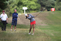 Pannarat Thanapolboonyaras (THA) on the 2nd fairway during Round 3 of the Ricoh Women's British Open at Royal Lytham &amp; St. Annes on Saturday 4th August 2018.<br /> Picture:  Thos Caffrey / Golffile<br /> <br /> All photo usage must carry mandatory copyright credit (&copy; Golffile | Thos Caffrey)