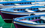 Local fishing boats in the harbour in Kaleici (the Old Town), Antalya, Mediterranean Coast, Turkey