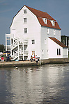 Tide mill on the River Deben, Woodbridge, Suffolk, England