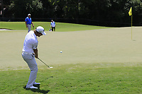 Emiliano Grillo (ARG) chips onto the 13th green during Thursday's Round 1 of the 2017 PGA Championship held at Quail Hollow Golf Club, Charlotte, North Carolina, USA. 10th August 2017.<br /> Picture: Eoin Clarke | Golffile<br /> <br /> <br /> All photos usage must carry mandatory copyright credit (&copy; Golffile | Eoin Clarke)