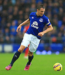 Phil Jagielka of Everton - Everton vs. Leicester City - Barclay's Premier League - Goodison Park - Liverpool - 22/02/2015 Pic Philip Oldham/Sportimage