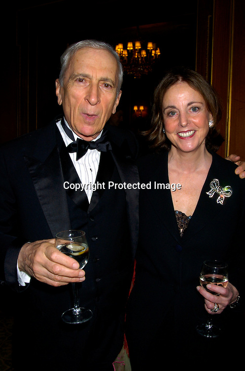 Gay Talese and wife Nan ..at the 2004 Pen Literary Dinner and the Presentation of Free Expression Awards  on April 20, 2004 at The ..Pierre Hotel in New York City. ..Photo by Robin Platzer, Twin Images