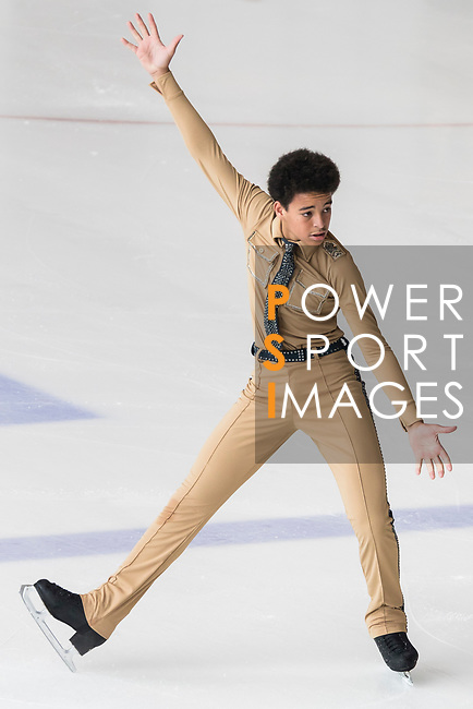 Darian Kaptich of Australia competes in Junior Men group during the Asian Open Figure Skating Trophy 2017 at Mega Ice on 02 August, 2017 in Hong Kong, China. Photo by Yu Chun Christopher Wong / Power Sport Images