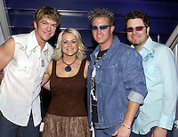 Rascal Flatts,Carolyn Dawn Johnson at the first ever CMT Flameworthy Video Music Awards at the Gaylord Entertainment Center in Nashville Tennesee. 6/12/02<br /> Photo by Rick Diamond/PictureGroup