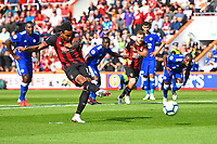 Joshua King of AFC Bournemouth makes the score 3-0 from the penalty spot during AFC Bournemouth vs Leicester City, Premier League Football at the Vitality Stadium on 15th September 2018