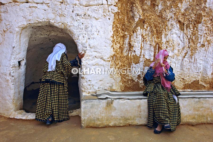 Casas subterraneas em Matmata. Tunisia. 2009. Foto de Caio Vilela.