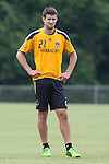 28 May 2013: Tommy Meyer. The Los Angeles Galaxy held a training session on Field 3 at WakeMed Soccer Park in Cary, NC the day before playing in a 2013 Lamar Hunt U.S. Open Cup third round game.