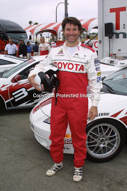 ©2003 KATHY HUTCHINS / HUTCHINS PHOTO.TOYOTA GRAND PRIX CELEB RACE PRESS DAY.LONG BEACH, CA.APRIL 1, 2003..PETER RECKELL