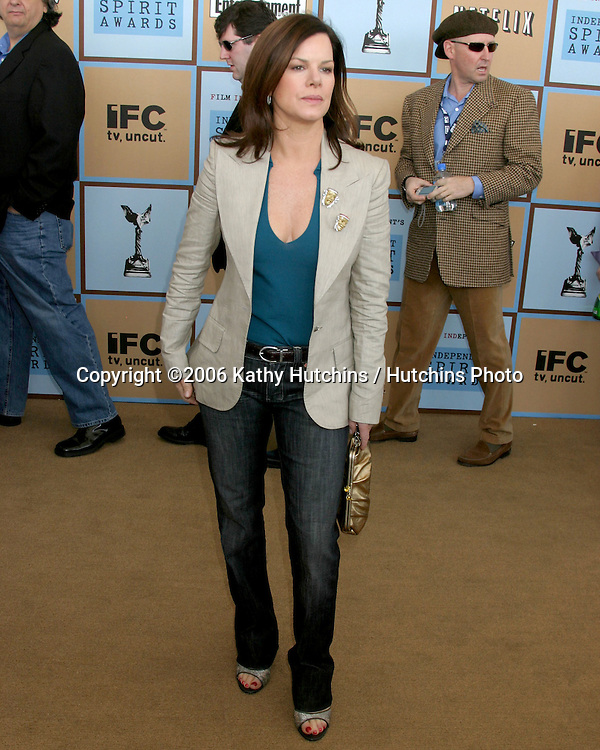 Marcia Gay Harden.Independent Spirit Awards.Santa Monica Beach.Santa Monica, CA.March 4, 2006.©2006 Kathy Hutchins / Hutchins Photo....