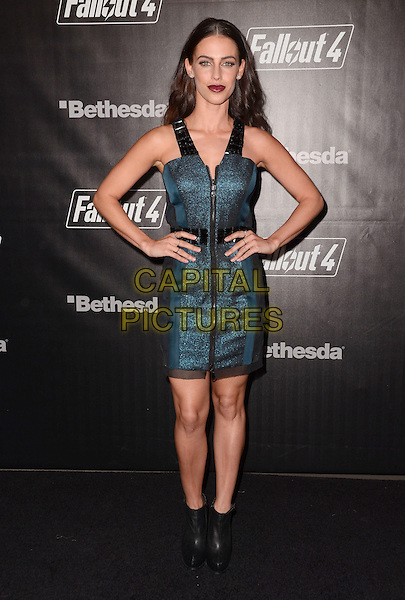 05 November - Los Angeles, Ca - Jessica Lowndes. Arrivals for the official launch party of the video game &quot;Fallout 4&quot; held at a private location in Downtown LA.  <br /> CAP/ADM/BT<br /> &copy;BT/ADM/Capital Pictures