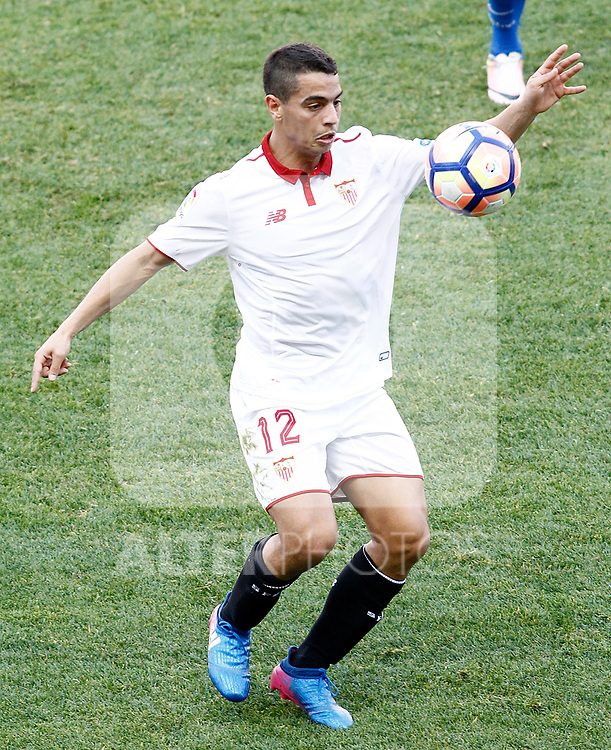 Sevilla FC's Wissam Ben Yedder during La Liga match. March 19,2017. (ALTERPHOTOS/Acero)